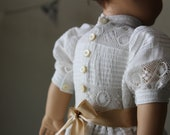 "Antique Lace Edwardian Tea Dress for 18"" American Girl Dolls"