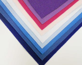 Kunin Felt Twilight Tones - 10pcs of A4 Felt