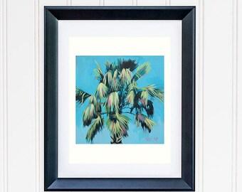 Banana Leaf Print, Tropical Leaves Wall Art, Beach House Decor, Tropical Banana Tree Painting, Modern Botanical Wall Decor Art