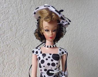 Elite Creations Barbie Clone doll, Wendy with her Dalmatian Dog and matching outfit.