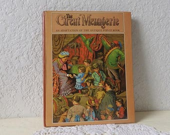 The Great Menagerie, An Adaptation of an Unusual Antique Pop-Up Book