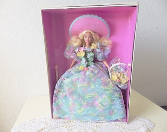 Spring Bouquet Barbie from the Enchanted Seasons Collection, Limited Edition,as New in Box, 1994