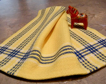 Kitchen Towel, GOTS Certified Organic Yarn, Handwoven Towel, Hand Woven Guest Towel, Tea Towel, Handwoven Dish Towel, Hand Woven Dish Towel