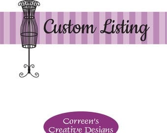 Reserved Listing for Jenny - Jasmine and Rapunzel Costumes