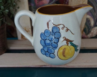 Small Stangl Pitcher with Fruit