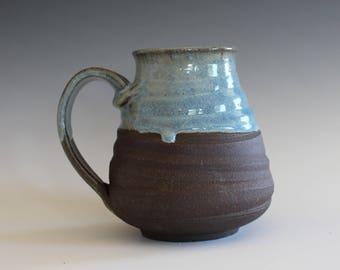 EXTRA LARGE Mug, 21 oz, handmade ceramic cup, handthrown mug, ceramic stoneware pottery mug unique coffee mug ceramics and pottery
