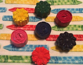 Little Flower crayons