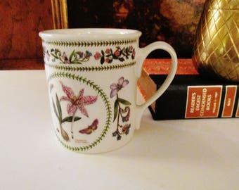 Portmeirion Variations Mug, Susan Williams-Ellis, English Garden Mugs, Tea Mugs, English Cottage, Meadow Safforn Mug