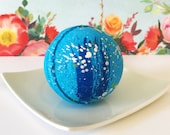 Texas Bluebonnet Bath Bomb | Wildflower Bath Bomb | Self Care | Birthday Gift | Mother's Day Gift | Anxiety Help Bridesmaid