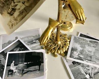 Brass Hand Memo Holder