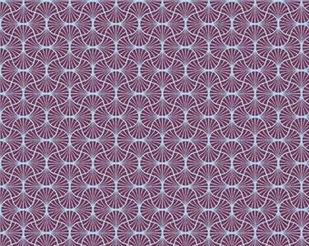 SALE 10% Off - Empire Weave in Amethyst  (JD54) - Joel Dewberry Fabric HEIRLOOM for Free Spirit - By the Yard