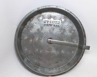 "Vintage Ovenex Starburst Pie Plate - Ovenex N-94-9""  Pie Pan - Ovenex Cake Pan - Ovenex Baking Pan - Vintage Kitchen  - Tin Pie Plate"