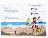 Pearl and the Pirate - Volume One of The Legend of Mermaids Tears - full colour children's book.