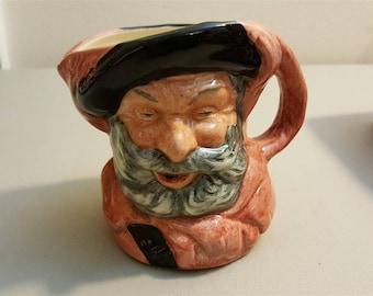 """Royal Doulton Mini Small 4"""" Character Toby Jug Mug 1949 Sir John FALSTAFF #6385"""