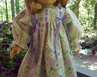 Spring colored Night Gown-will fit your 18 inch doll.