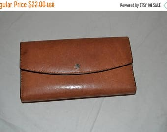June Savings Bosca Wallet~Leather Wallet
