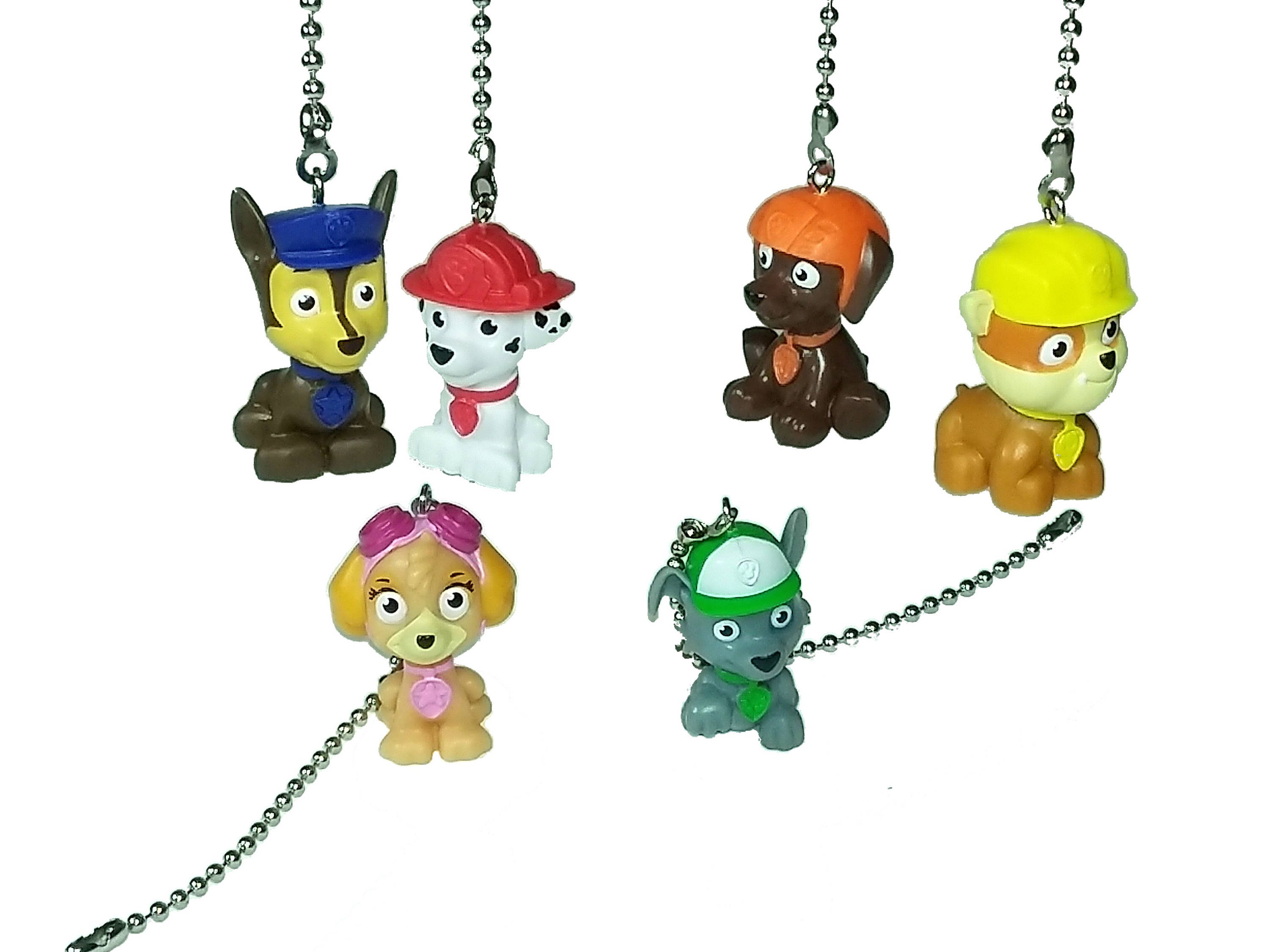 Paw Patrol Ceiling Fan Light Pull Chain Kids Room Decor Nursery