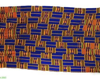 Kente Handwoven Cloth Asante Ghana African Art 97546