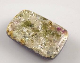 Orgone with Auralite Moldavite Fluorite, Arkansas Crystals, Phenacite Petalite Selenite Tourmaline, Elite Shungite, Rhodizite Silver (d47)