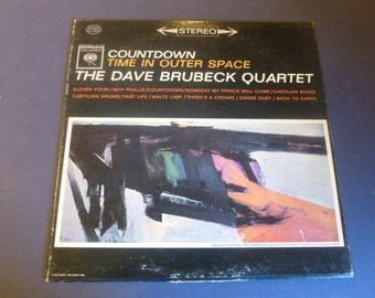 Countdown Time In Outer Space The Dave Brubeck Quartet Vinyl Record LP CS 8575 Columbia Records 1962