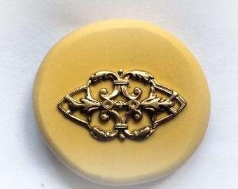 Diamond Filigree silicone food safe rubber mold