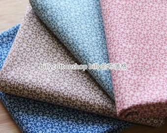 m331_45 - floral fabrics - Cherry blossoms - Cotton fabrics - half Yard (4 color to choose )