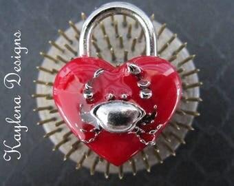 Crab,  Heart Lock, lock, BDSM Lock, lock and key,Crab