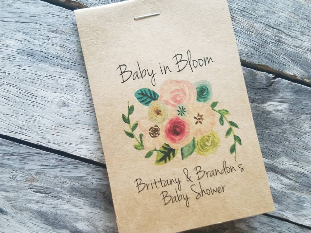 Baby Shower Favors Flowers ~ Rustic sunflowers baby shower favors floral spray bouquet