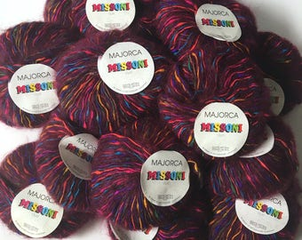 Filatura di Crosa Missoni Majorca yarn - 17 skeins - yarn destash