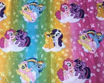 Personalized Kids School Pencil Box Case My Little Pony Rainbow Dash Pinky Pie