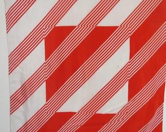 "Extra Large Geometric Silk Scarf Liz Claibordne 30"" X 31""  #016"