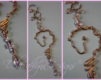 Horse Suncatcher, TICKLED PINK, horse lover gift, crystal suncatcher, wire horse, window decoration,