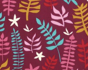 Liz Scott Fabric, Domestic Bliss by Liz Scott for Moda Fabrics, 18074-11 Out of Doors Eggplant