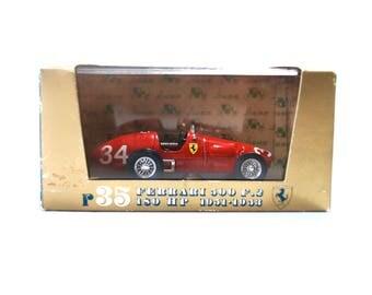Brumm Red Ferrari 500 F 2 180 HP 1951-1953 #34