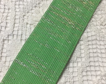 ELASTIC FANCY RIBBON - Green