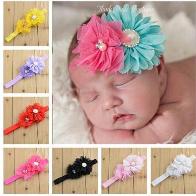 Wholesale Baby Hair Bows Girl Headband
