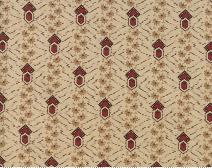 Timeless Cream Rust 38027 21 by Jo Morton for Moda Fabrics