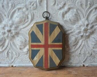 Vintage Wood Flag Of The United Kingdom