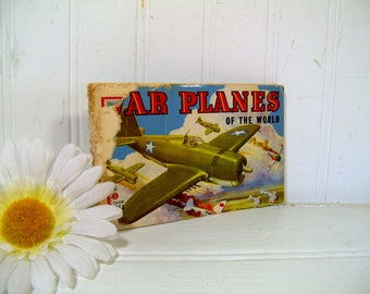 War Planes Of The World A Companion Book to Airplanes of the USA by John B Walker With 60 Illustrations in Full Color Buy War Bonds & Stamps