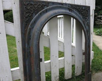 Cast iron fireplace | Etsy