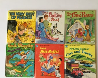 Vintage Whitman Tell A Tale Books