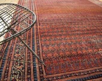 7x15.5 Antique Fine Malayer Rug Runner