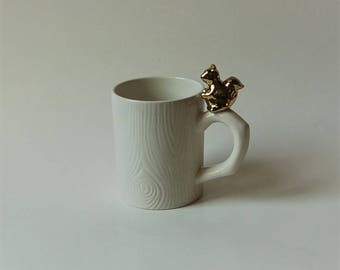 Golden Squirrel Mug
