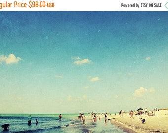 beach photography // beach art print // beach art - Sunshine State, 16x24 photography print