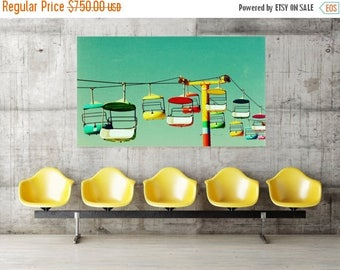 oversized art / large art / huge custom art - Summer of 67, 40x60 photograph giclee on canvas art