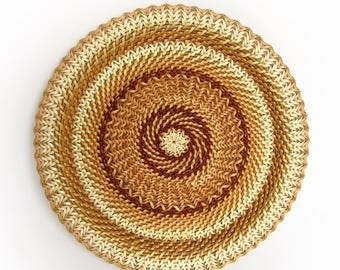 Wicker baskets Woven plates Pie serving Rustic home decor Eco friendly gift Ethnic wall decor Rustic table decor Woven basket