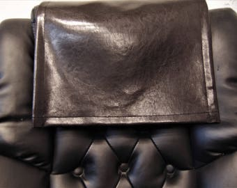 Vinyl, Brown Houston, 14x30, Sofa, Loveseat, Chaise, Theater Seat, RV Cover, Chair Caps, Headrest Pad, Recliner Head Cover, Protector