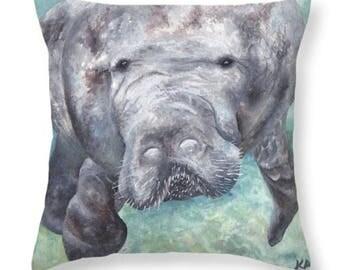 Manatee Pillow