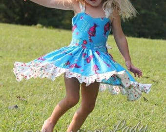 Trolls Movie inspired Birthday Party dress - Trolls movie outfit