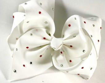 Jojo Siwa Bow - Big White Bow